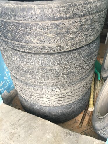 Ош знакомства - Кыргызстан: Шины Б/У R19, 245/55. Весь комплект