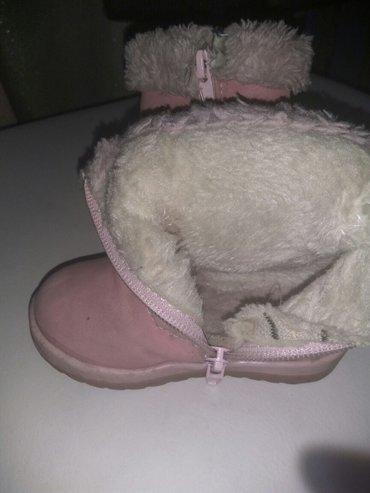 Продаются сапожки зимние на девочку. размер 21 в Бишкек