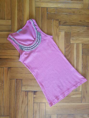 Ženske majice - Srbija: Majica nosena,ali ocuvana.Odgovara velicinama S/M