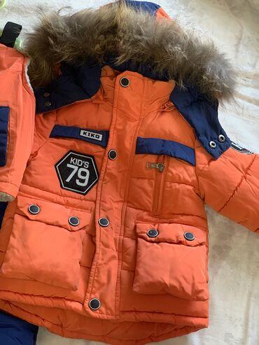 Детский мир - Беловодское: Зимняя куртка тройка в отличном состоянии