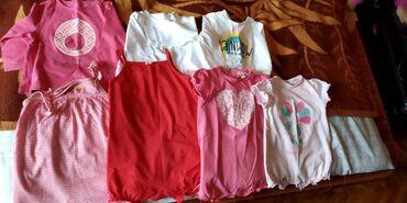 Letnja pidzame i majice za devojcice, velicina 68