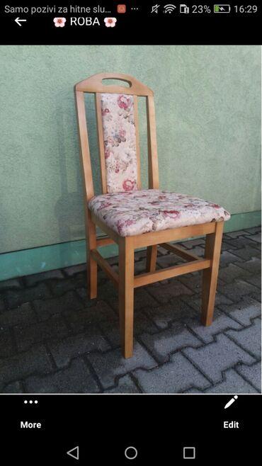 Farmerice nekoliko - Srbija: Nove bukove stolice, nekoliko modela u vise boja bajcovanog drveta i
