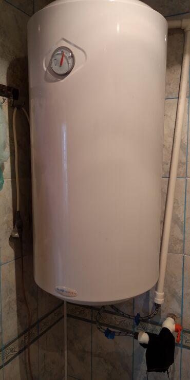 qaz su qizdiricilari - Azərbaycan: 100 litrdi 6 ay islenibdir binaya qaz gelib deye satilir hec bir prabl