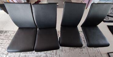 Έπιπλα - Ελλαδα: Καρέκλες τραπεζαριας 4 τεμάχια σε πάρα πολύ καλή κατασταση