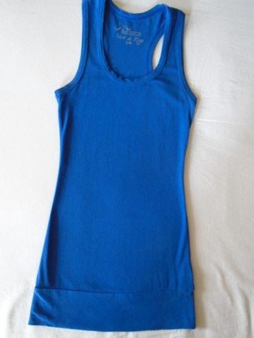 Haljina-madam-rage - Srbija: Kraljevsko plava majica, Vert de rage, S/M veličine