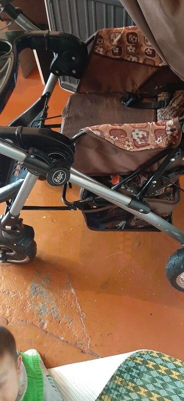 Коляски - Кыргызстан: Срочно продаю коляску фирмы Барс. На улицу с ней не выходили. Просим