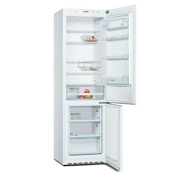 New Double Chamber white refrigerator Bosch