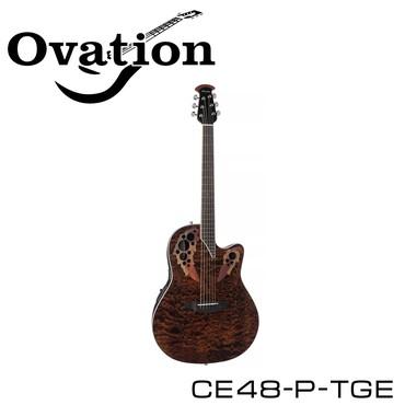 Гитара электро-акустическая Ovation CE48-P-TGE.Серия гитар Celebrity