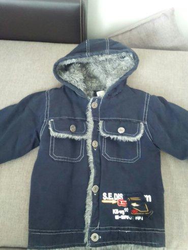 Veoma topla dečija jakna. Malo korišćena,bez oštećenja. Otprilike za u - Smederevo