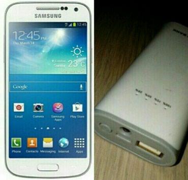 Gəncə şəhərində Gencede. Samsung S4 + Power bank. Telefon super isleyir. Super