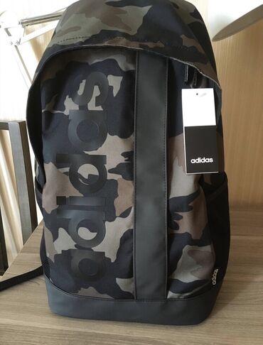 Новый крутой рюкзак Adidas, 100% оригинал, качество отличное, большой