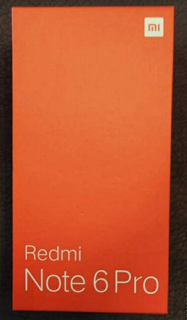 İşlənmiş Xiaomi Redmi Note 6 Pro 64 GB qara