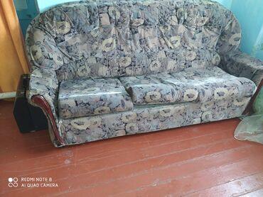 Диваны - Кемин: Диван раскладной двух спальный в идеальном состоянии