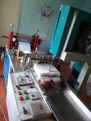 Продаю или меняю на авто станок для производства салфетки в Бишкек