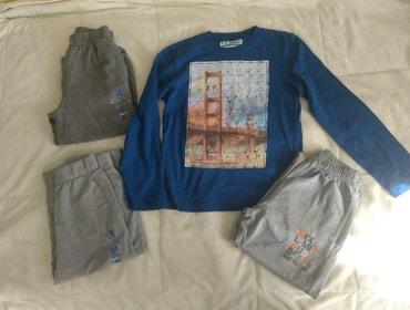 Komplet za decake, vel.12,  bluza i 3 para trenerki, donji deo - Nis