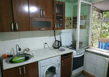 купить гантели бу в бишкеке в Кыргызстан: 104 серия, 2 комнаты, 44 кв. м Без мебели, Неугловая квартира
