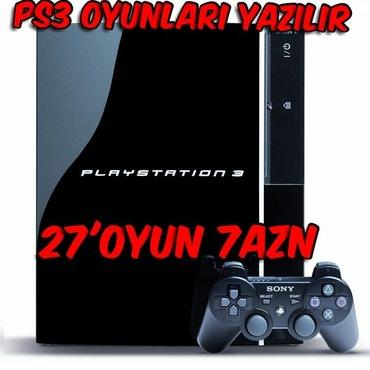 Bakı şəhərində Her Növ Playstation 3 Ucun (Fat, Slim, Super Slim) Modellerine