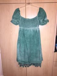 Φορεμα - Ελλαδα: Φορεμα με δαντελα στο τελειωμα και σφηκοφωλια!!!! Πετροπλυμενο! Πολυ