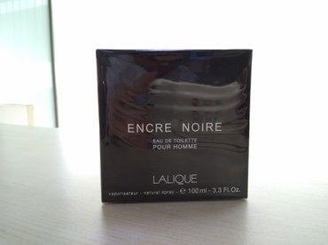 aventos noir - Azərbaycan: Lalique Encre Noire 100 ml