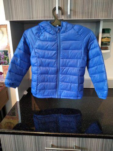 Детский мир - Кунтуу: Куртка модная для мальчика почти новая 8.9лет 500с
