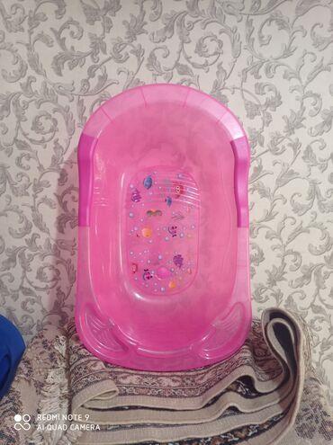 Детский мир - Аламедин (ГЭС-2): Продаю ванночку детскую, пользовались 3-4 раза