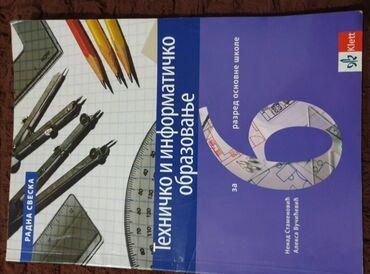 Tehničko i informatičko obrazovanje za 6. razred, klett, udžbenik i