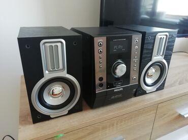 Muzička linija Philips MCM 398D kao nova. Linija ima radio FM, CD