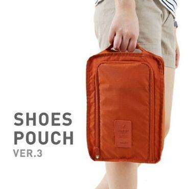 органайзер для косметики бишкек in Кыргызстан   КОСМЕТИКА: Дорожный чехол для обуви Travelty Shoes Pouch Peach  Представляем Ваш