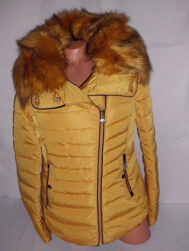 Zenska jakna bez kapuljace blago strukirana velika kragna sa - Beograd