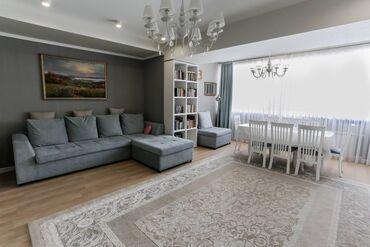 продается квартира в бишкеке в Кыргызстан: Индивидуалка, 4 комнаты, 140 кв. м Бронированные двери, Дизайнерский ремонт, Лифт