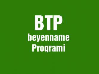 Bakı şəhərində Btp programinin yuklenmesi yazilmasi Online sekilde Cemi 5 AZN