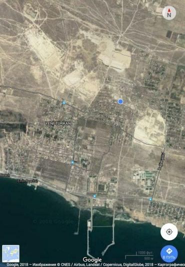 Bakı şəhərində Yeni Türkanda torpaq sahəsi.