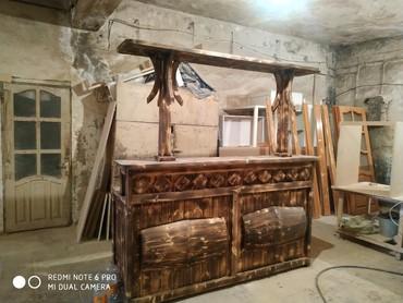barni stoyka - Azərbaycan: Restoran ve bag evleri ucun barni stoykalarin hazirlanmasi