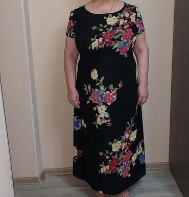 женское платье 54 в Кыргызстан: 2500 с. Шикарное женское платье. Турция. Размер 52-54