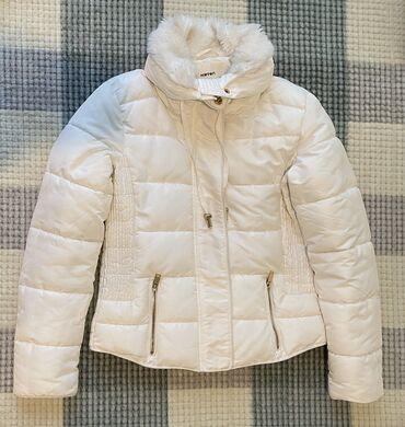 Продаю тёплую зимнюю белую куртку Koton, размер s( small), отдам за