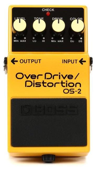 Bakı şəhərində Boss os-2 pedal yeni