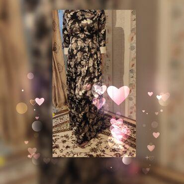 Турецкое платье ооочень красивое, Ткань- атласРазмер 42-46Подойдёт