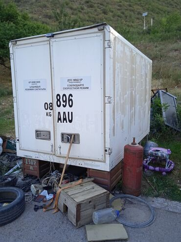 продаю холодильник бу in Кыргызстан   ХОЛОДИЛЬНИКИ: Продаю термо будку холодильник или меняю на авто длина 3.3 ширина 1.7