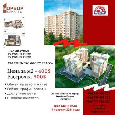 Новостройки - Кыргызстан: Доступное жилье каждому!!!Жилой комплекс «бакдөөлөт» это 9-этажный