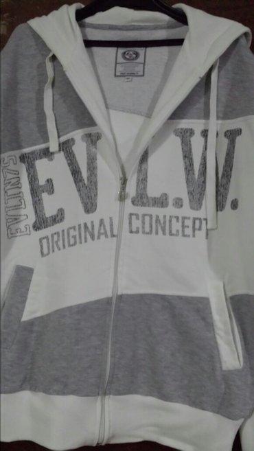 muška markirana duks jakna od brusenog pamuka, malo nošena XL velicina - Velika Plana