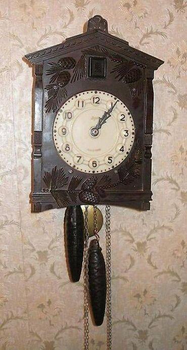 Настенные часы с кукушкой МАЯКМеханизм ходиков с кукушкой такой, как у