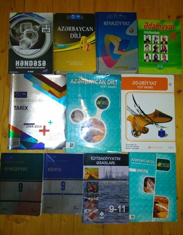 mektebe qeder hazirliq - Azərbaycan: Hazirliq ve ders ucun kitablar ucuz qiymete