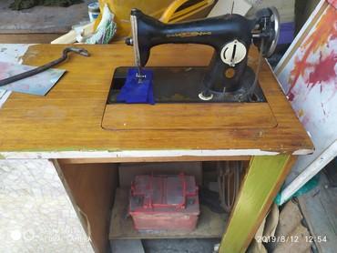 Продаю швейную машинку. Подольск с тумбой. ручная и ножная. без торга
