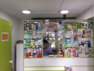 ящики для овощей в Кыргызстан: Новые витрины и кассовая стойка для аптеки. Для торгового зала 15 кв