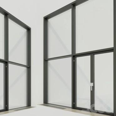 Алюминиевые окна,окна в Бишкек