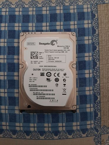 Elektronika - Vrnjacka Banja: Hard disk za laptop segate 320gb, 100/100, testiran na Hard Disk