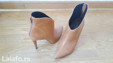 Cipele nove,duboke u spic sa zipom pozadi,prelepe u broju 39 - Beograd - slika 2