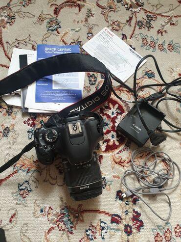 Canon 600d kit 18-55 is ii, в отличном состоянии, в комплекте оригинал
