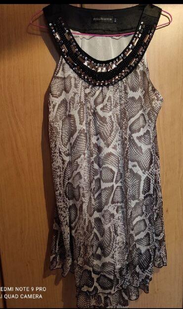 Φόρεμα μίνι τιγρε size large