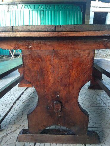 Продаю стол со стульями.Размер стола ;Длина 1м29см.Ширина 75.Ножки